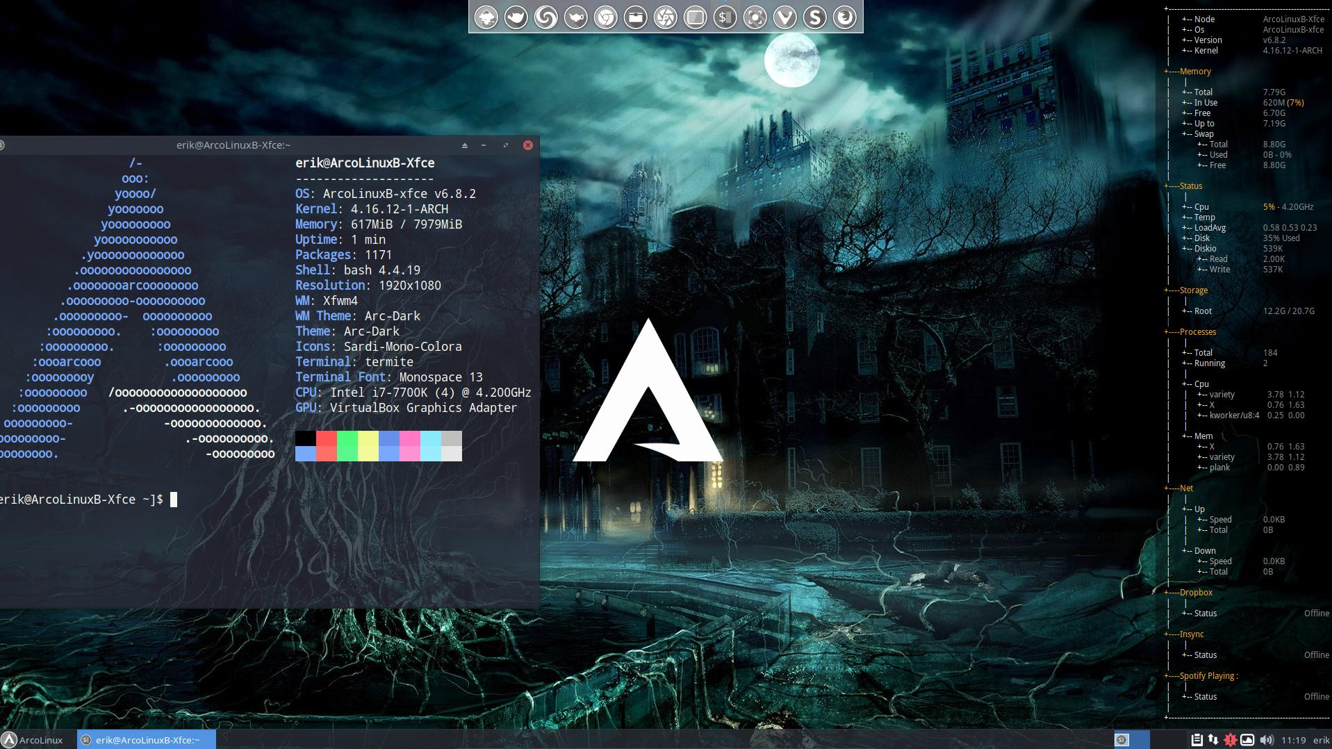 BYOI ArcoLinuxB Xfce
